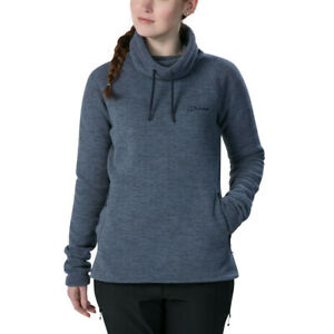 Purple Sports Outdoors Warm Breathable Berghaus Womens Canvey Fleece Top