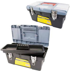 41cm Tool Box Handle Plastic Toolbox Organiser Tray Diy Storage Work