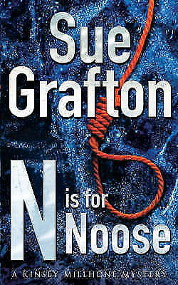 """""""AS NEW"""" Grafton, Sue, N Is For Noose (A Kinsey Millhone Mystery), Paperback Boo"""