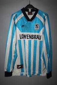 MUNICH-1860-FOOTBALL-SHIRT-JERSEY-TRIKOT-LONG-SLEEVE-1995-1996-HOME-NIKE-BOYS-XL