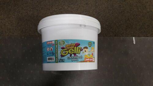Désordonné jouer Gelli 1.5 kg Neuf//Free p/&p marais Vert Pack éducatif