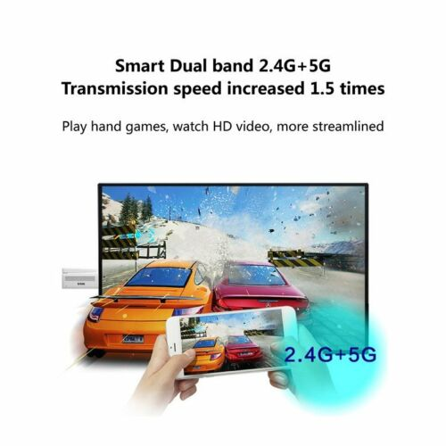 SSK High Compatible Mirascreen DLNA Airplay WiFi Display Miracast Dongle WG
