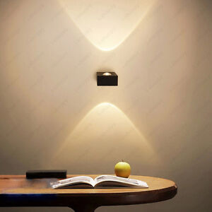 Dimmable N 6w Led Cob Wall Sconces Light Fixture Up Down Lamp