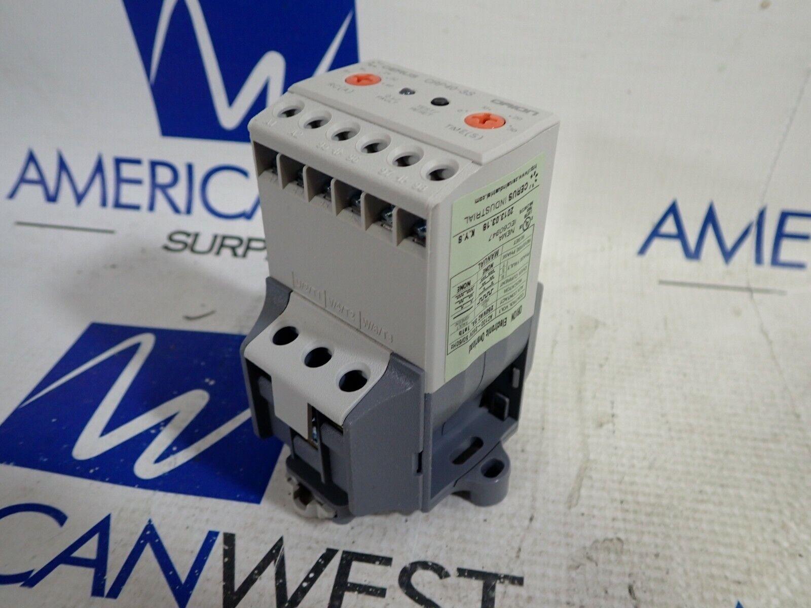 Cerus CRP40-3SR40A Electronic Overload 8-40A Surplus