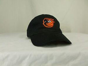 New Era YOUTH Baseball Hat Cap Black Baltimore Orioles Adjusts for ... 22225d98d0d