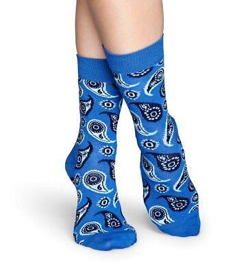 Paisley Socks koralle // hellblau 41-46 Socken 36-40 Happy Socks