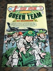 1st-Issue-Special-2-Apr-1975-DC-Jack-Kirby-The-Green-Team-Boy-Millionaires