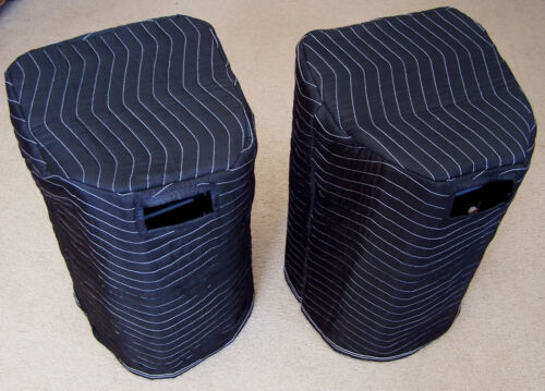 EV ZLX-12P ZLX 12P Premium Padded Black Speaker Covers 2 Qty of 1 = 1 Pair!