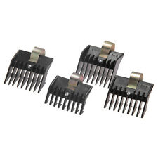4pcs Electric Hair Clipper Trimmer Guide Comb Replacement Tool Black New