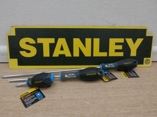 Mixte Longueur STANLEY FATMAX PZ2 Tournevis 30 mm Stubby 125 mm STD /& 250 mm long