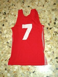 maillot-porte-shirt-BASKET-ancien-vintage-ADIDAS-VENTEX-70-039-s-MONACO-MONTPELLIER