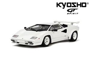 1-18-Kyosho-Lamborghini-Countach-LP-5000-Qv-white-GTS18504W-NEU-NEW