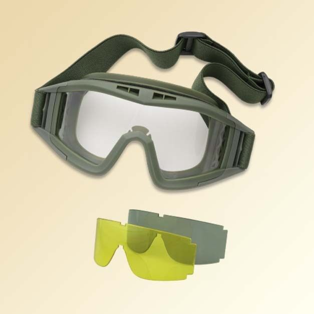 GAFAS TACTICAS 3 LENTES INTERCAMBIABLES ANTIVAHO VERDES, AIRSOFT AIRSOFT AIRSOFT PAINTBALL 9ef6cd