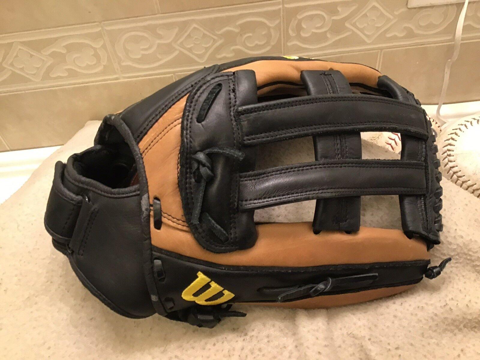 Wilson A800 Baseball SP14 14' Baseball A800 Softball Glove Right Hand Throw 0ad254