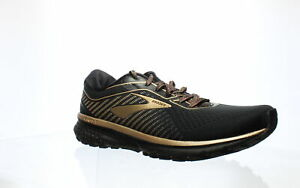 Brooks-Womens-Ghost-12-Black-Ebony-Gold-Running-Shoes-Size-11-1305801