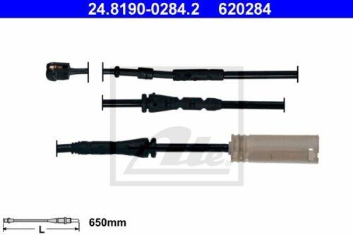 ATE Warnkontakt Bremsbelagverschleiß 24.8190-0284.2 für BMW E87 E81 E88 E90 E91