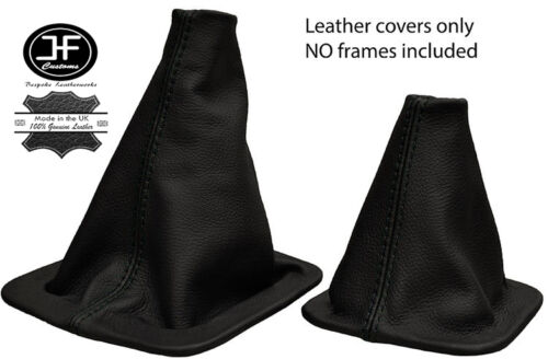 BLACK STITCH MANUAL GEAR HI-LOW GAITER FOR LAND ROVER DISCOVERY MK1 MK2 96-04