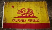 3x5 California College Football Red And Gold Flag 3'x5' Brass Grommets