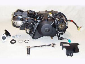 Zongshen-Motor-125cc-ZS154FMI-Kick-E-Starter-Manuell-Black-f-Pit-Bike
