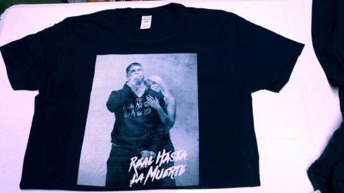 Anuel Aa Real Hasta La Muerte Carol G .T Shirt different size