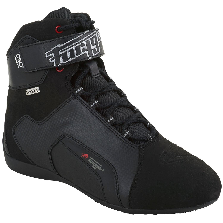 Furygan Jet D3O Men's Sympatex Motorcycle Shoes Leather - Black