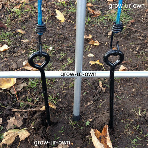 Polytunnel Greenhouse Anchor Ground Kit Anti Hot Spot Tape Gazebo Tent Marque
