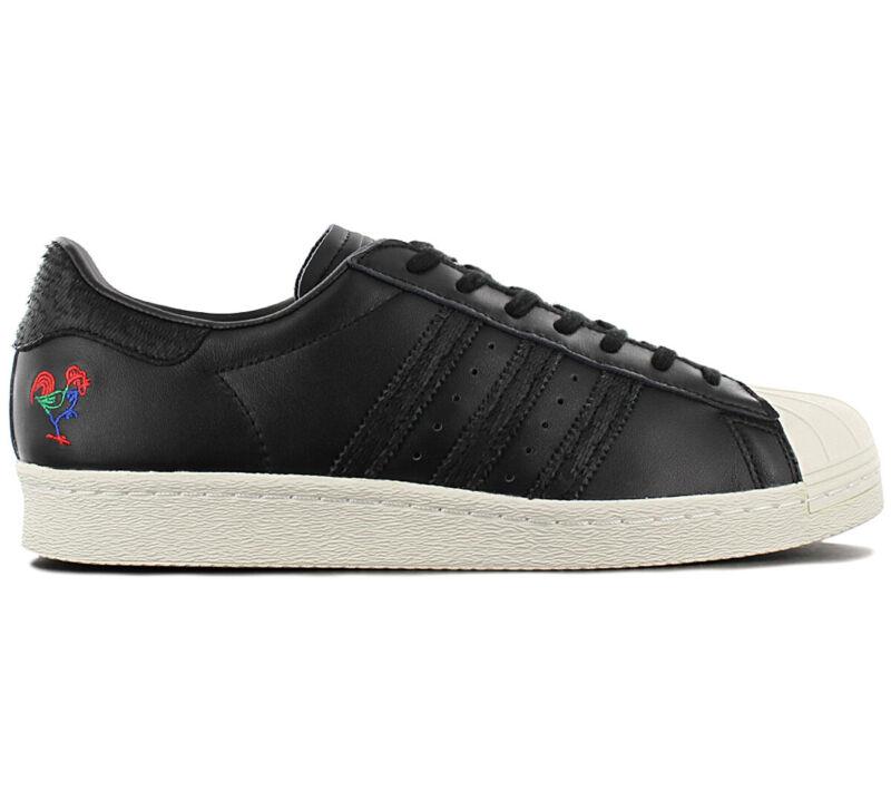 Adidas Originals Superstar 80s Cny - Cinese Nuovo Anno - Ba7778 Uomo Scarpe