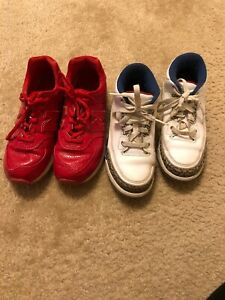 official photos 59749 08414 Details about Nike Jordan And New Balance Boys Shoes Size 3y Kids Gently  Used