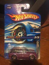 2005 Hot Wheels Boom Box #118