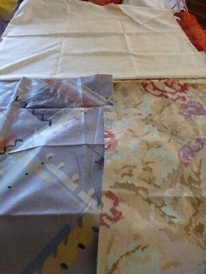 Cooperativa 4 Tissus Ameublemenst ,coussins Patchork Neuves,assorties Teintes Beiges Prodotti Di Qualità In Base Alla Qualità