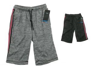 Split-Mens-Tech-Fleece-Training-Shorts-with-Elastic-Waist-Casual-MSRP-26