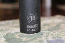 "18mm LIFETIME WARRANTY Draper 1//2/"" Square Drive 6 Point Metric Deep Socket"