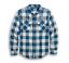 HARLEY-Davidson Uomo Buffalo Camicia con motivo a Plaid CAMP 96007-20VM