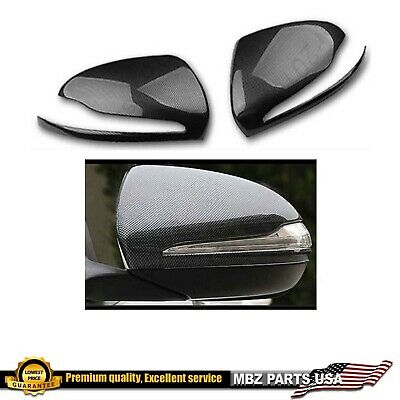 Right Side Wing Mirror Cover Black For Benz S-Class W222 S65 S500 S550 15-18 New