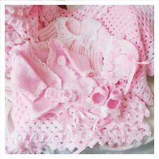 402113b8f Teddy Doll Premature Baby Outfits DK Yarn Knitting Pattern 7207