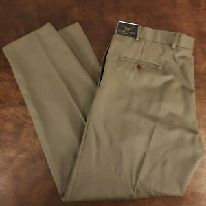 exquisite design save up to 80% for whole family Details about Men's Brooks Brothers 346 Madison Fit Olive Dress Pants NWT  36 x 30