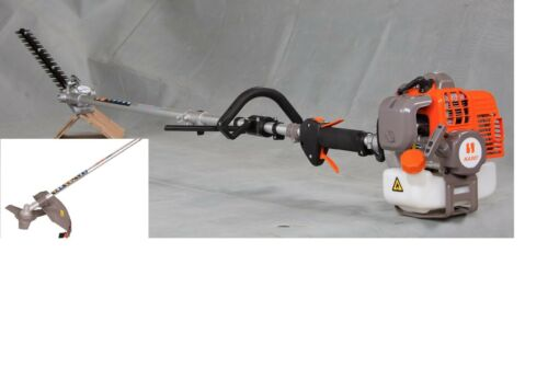 NIB KASEI 43cc Gas long pole hedge trimmer Brush cutter 7.5 feet EPA