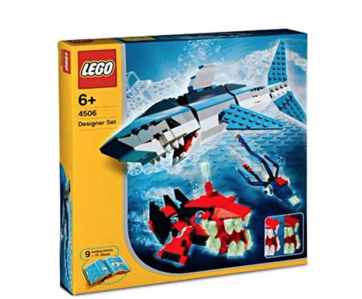 Lego Deep Sea Prossoators  4506
