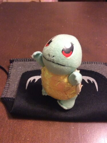 1998 Pokemon Squirtle PlushBeanbag toy Limited Editon Applause 3+