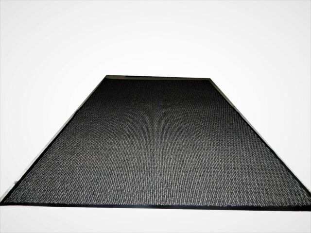 Heavy Duty Rubber Door Mat Durable Entrance Doormats Waterproof Entry Rugs 16x24