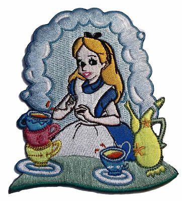 "Disney/'s Alice in Wonderland Character 3 1//2/"" Tall Embroidered Patch"