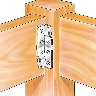 Surface Mount Bed Rail Brackets - Hardware > Project Hardware > Bed Hardware