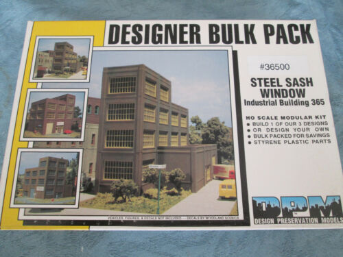 Steel Sash Window Indust. Building DPM HO #243-36500