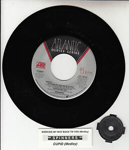 SPINNERS-Working-My-Way-Back-To-You-Medley-7-034-45-rpm-vinyl-record-NEW