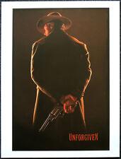 UNFORGIVEN 1992 FILM MOVIE POSTER PAGE . CLINT EASTWOOD GENE HACKMAN . N61