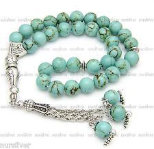 Firuza,Turquoise stone prayer beads / worry beads / Tasbih /Masbaha / Rosary