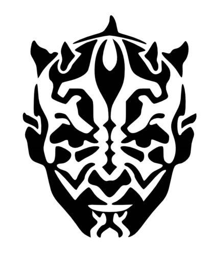 Sticker StarWars The Phantom Menace vinyl Decal