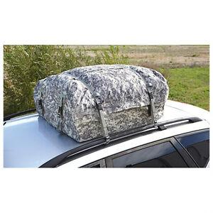 Cargo Waterproof Roof Top Carrier Bag Rack Storage Luggage
