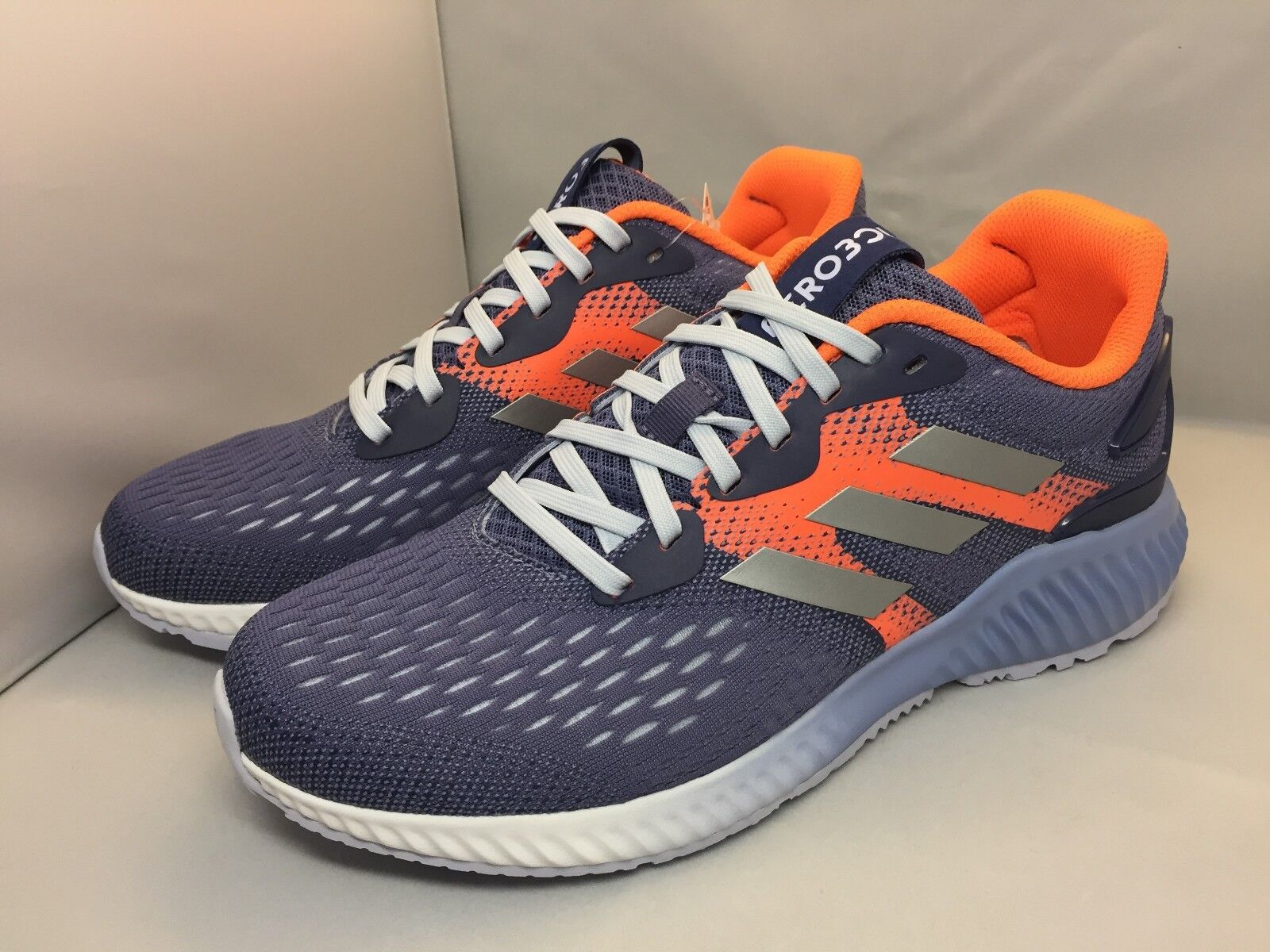 Adidas Women's Shoes Aerobounce Running DA9964 Gray/Orange