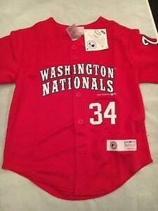 4f87825977a Washington Nationals NEW Youth X-Small Harper  34 Jersey . MLB ...